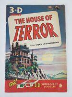 The House of Terror 3D #1 St. John Publications 1953 (NO GLASSES)
