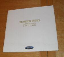 Ford Granada Launch Brochure 1985 - GL Ghia Scorpio