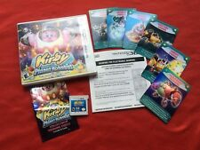 Kirby Planet Robobot 3DS Nintendo Card Instructions COMPLETE + Bonus Cards Lot
