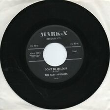 The Isley Brothers  Don't Be Jealous  on Mark-X   Original 45