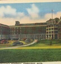 Postcard, Royal Alexandra Hospital Edmonton Alberta Canada, Vintage P23