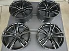 OEM Gloss Black BMW X6M Rims 21 inch Staggered Style 612m, All 4 Refurbished