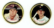 BOSTON RED SOX ~ Pair of 1964 Topps Coins