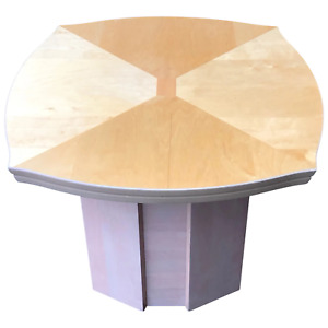 Beautiful Art Deco Style French 20th Century Bowed Curved Fronted Coffee Table