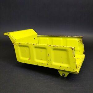 Vintage Tonka Turbine Lime GreenHydraulic Dump Bed 2585Original Paint
