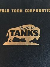 Buffalo Tank Corporation First Edition Handbook Beer Tanks  Steampunk