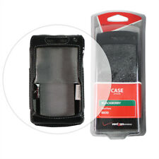 NEW VERIZON BLACK LEATHER CASE FOR BLACKBERRY CURVE 8830 CELL PHONE