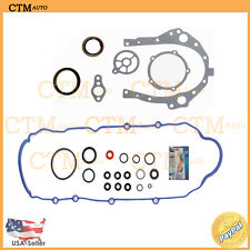 Oil Conversion Gasket Set Kit Rear Main For 94-05 Buick Century 3.1L 3.4L V6 OHV
