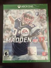 Madden NFL 17 XBOX One Free Shipping New Sealed