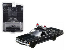 1974 DODGE MONACO POLICE BLACK BANDIT 1/64 DIECAST MODEL CAR GREENLIGHT 27710C