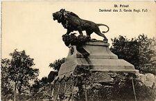 CPA Privat - Denkmal des 5. Garde Regt. FuB (393363)