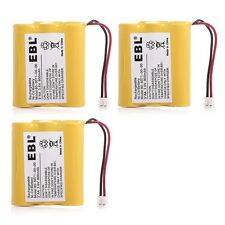 3x 3.6V 800mAh Home Phone Battery for GE 5-2450 5-2459 5-2461 TL26506 TL96506