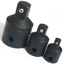 "Impact Socket Reducer Set/ Step Down Adaptors 3/4 to 1/2 to 3/8 to 1/4"" drives"