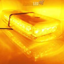 High Power Amber Yellow Warning 32-LED Snow Plow Safety Strobe Heavy Light Bar