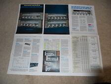 Marantz Récepteur Brochure,1978 Ligne 2252b 2238b 2226b 2216b Spécifications