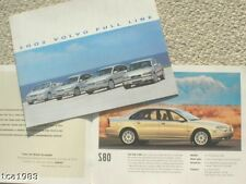2002 VOLVO Brochure/catalogue: S80, S60, S40, V70, V40, C70, XC, S-80, 60,40