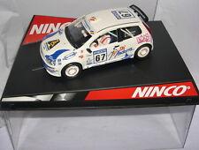 NINCO 50298 SLOT CAR FIAT PUNTO SUPER 1600  #67  A.LLOVERA-M.CORRAL  MB