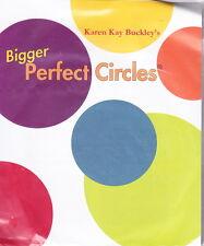 Bigger Perfect Circles -  plastic templates for circles for applique projects