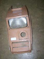 polaris plastic headlight cover shroud brown camel tan 300 4x4 94 95 hood 1995