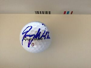 Jimmy Walker Signed Taylor Made Golf Ball Autographed a
