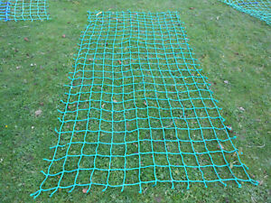 7x 3ft Strong cargo rope scramble net 4tree house playset fitness climbing frame