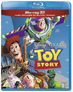 Toy Story (Blu-ray 3D + Blu-ray) [Region Free] [DVD][Region 2]