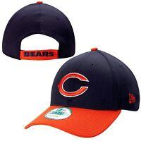 Chicago Bears NFL New Era Fundamental Tech 9FORTY Hat Cap Adult Adjustable