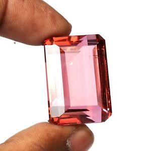88.00 Ct. Color Change In Sunlight Alexandrite Emerald Cut Loose Gemstone SS-222
