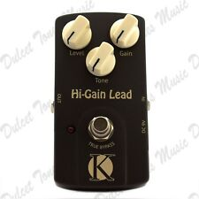 Kinsman Hi-Gain Lead Electric Guitar Overdrive/Distortion Effect Pedal FAST POST