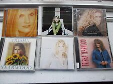6 CDS Trisha Yearwood/Road Leads/Everybody Knows/Woman/SongBook/Remembers