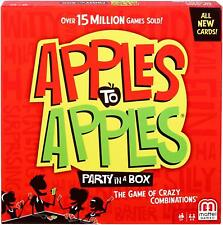 Apples To Apples Party in a Box Brand New Mattel Games  FREE P&P Xmas