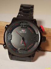 Wristwatch, SOX, Quartz Movement, Black