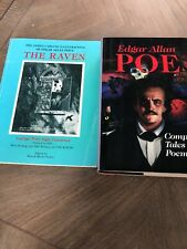 James Carling Illustrations of Edgar Allan Poe's the Raven Book & Complete Tales