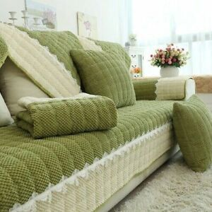 Living Room Sofa Cover Couch Cover Jacquard  Cushion Couch Cover Protection Set
