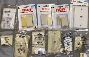 Assortment Of 11 - RJ11 Wall Phone Jacks