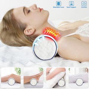 PON Memory Foam Bolster Cylinder Pillows Neck Pillows Round Nap Pillows Cervical