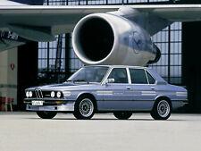 9pcs/9tlg 4d Decal stickers SILVER BMW Alpina E12 E28 E23 E30 Stickers Set
