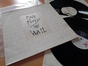 Pink Floyd - The Wall Vinyl 2LP '79 Electrola German Gatefold OIS Sticker in EX