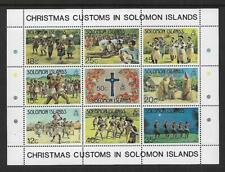 1983 Christmas Mini sheet Complete MUH/MNH as issued