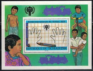 Chad SC378 Souv.Sht. IYC-the Children Of the World MNH 1979