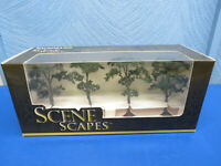 """BACHMANN SCENE SCAPES 2.5"""" - 2.75"""" MAPLE TREES 4 TREES/BOX"""