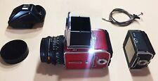 Hasselblad 501 cm Special Edition Film Camera w/ 2 A12 Backs