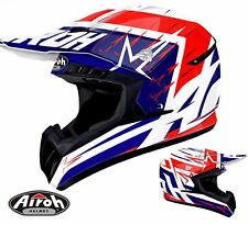 CASCO CROSS ENDURO AIROH off-road SWITCH STARTRUCK RED TG S