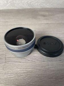 Sony x0.7 Wide Conversion Lens VCL-HG0730X Excellent Condition