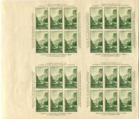 SHEET OF 24 USA SC# 751 TRANS-MISSISSIPPI PHILATELIC EXPO ISSUE Gutter MINT NH