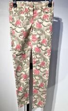 Scotch and Soda R'Belle Girls Size 12 Jungle Print Skinny Jegging Jeans NWOT