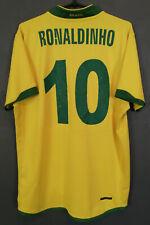 MENS NIKE BRAZIL 2006/2008 RONALDINHO BRASIL SOCCER FOOTBALL SHIRT JERSEY SIZE M