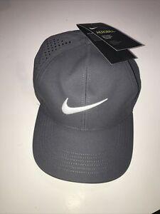 NIKE AEROBILL TAILWIND Featherlight Mesh DriFit Running Hat Cap CQ9366-010 Black