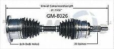 TrakMotive GM8026 Axle Shaft Assy- CV Shaft