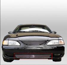 94 95 96 97 98 FORD MUSTANG V6 V8 GT SVT FRONT BUMPER BILLET GRILLE GRILL INSERT